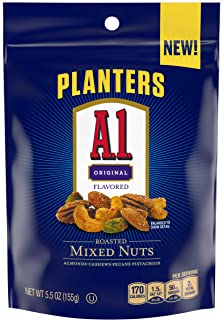 Planters A1 Sauce Flavored Roasted Mixed Nuts (5 oz Pouch)