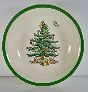 Spode Christmas Tree Coupe Cereal Bowl 6 1/4