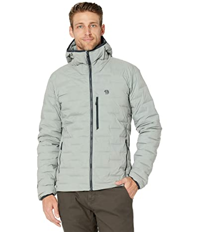 Mountain Hardwear Super/DStm Stretchdown Hooded Jacket (Wet Stone) Men