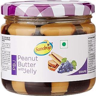 Sundrop Peanut Butter with Jelly Jar, Grape, 340g