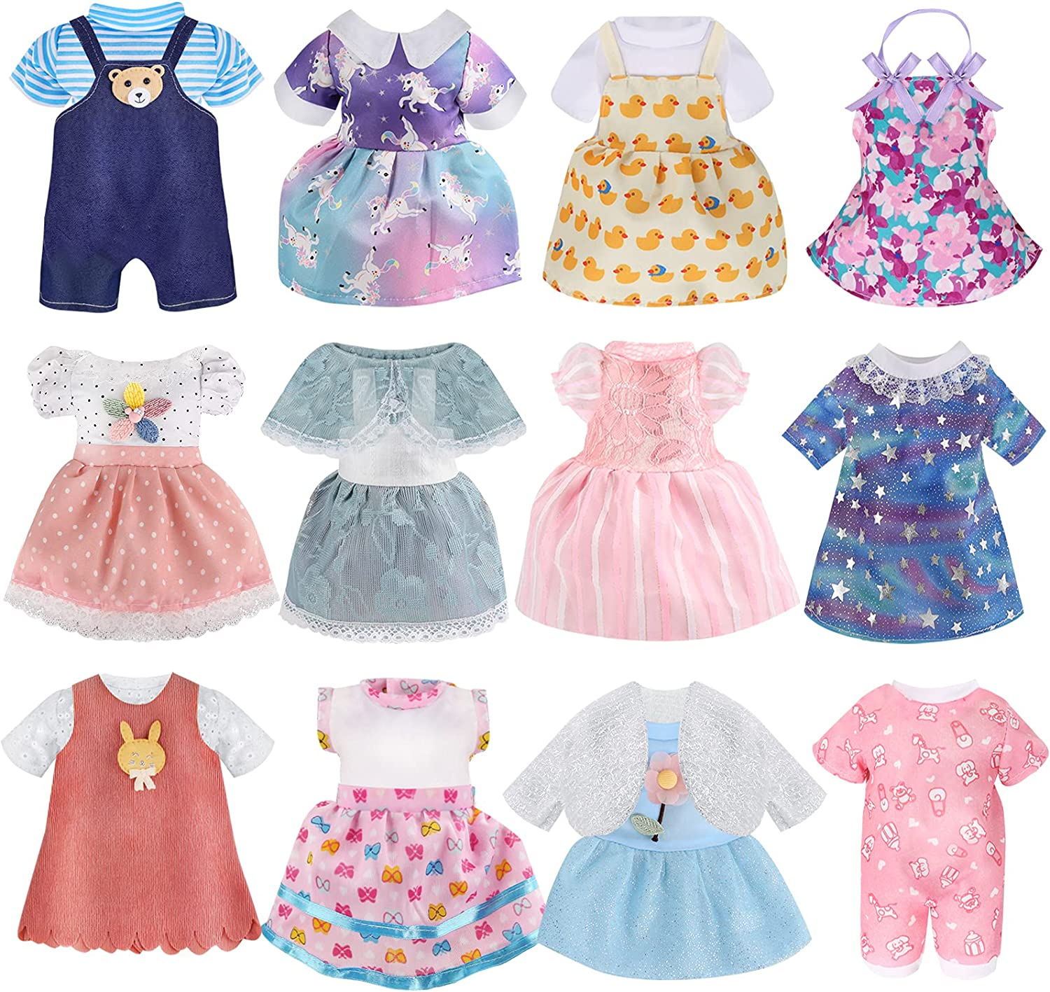 Girl Doll Purchase Clothes and Accessories 100% quality warranty! Set 12 - Cloth Alive-Baby