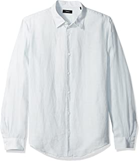 Theory Men's Irving Summer Linen Shirting