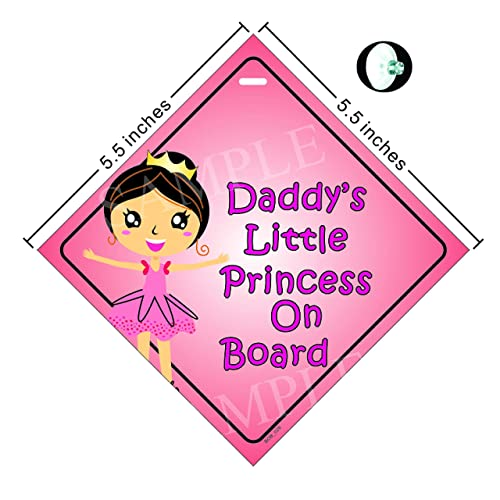 Daddys Little Boy Baby on Board Car Window Sign Non Personalised New B Y