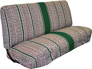 Full Size Truck Bench Seat Covers - Fits Chevrolet, Dodge, and Ford Trucks (Green)