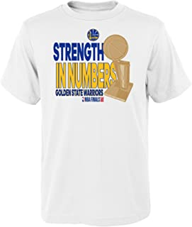 NBA Golden State Warriors Youth Boys 2018 Final Champs Parade Short Sleeve Tee