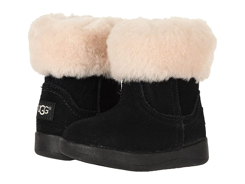 UGG Kids Jorie II (Infant/Toddler) (Black) Girls Shoes