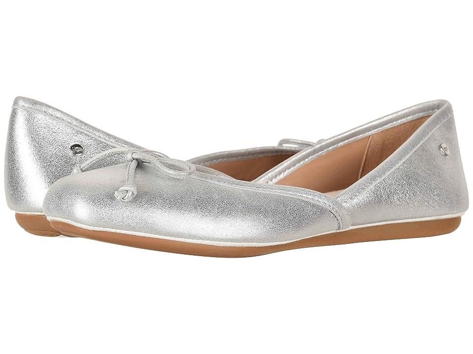 UGG Lena Flat (Silver) Women