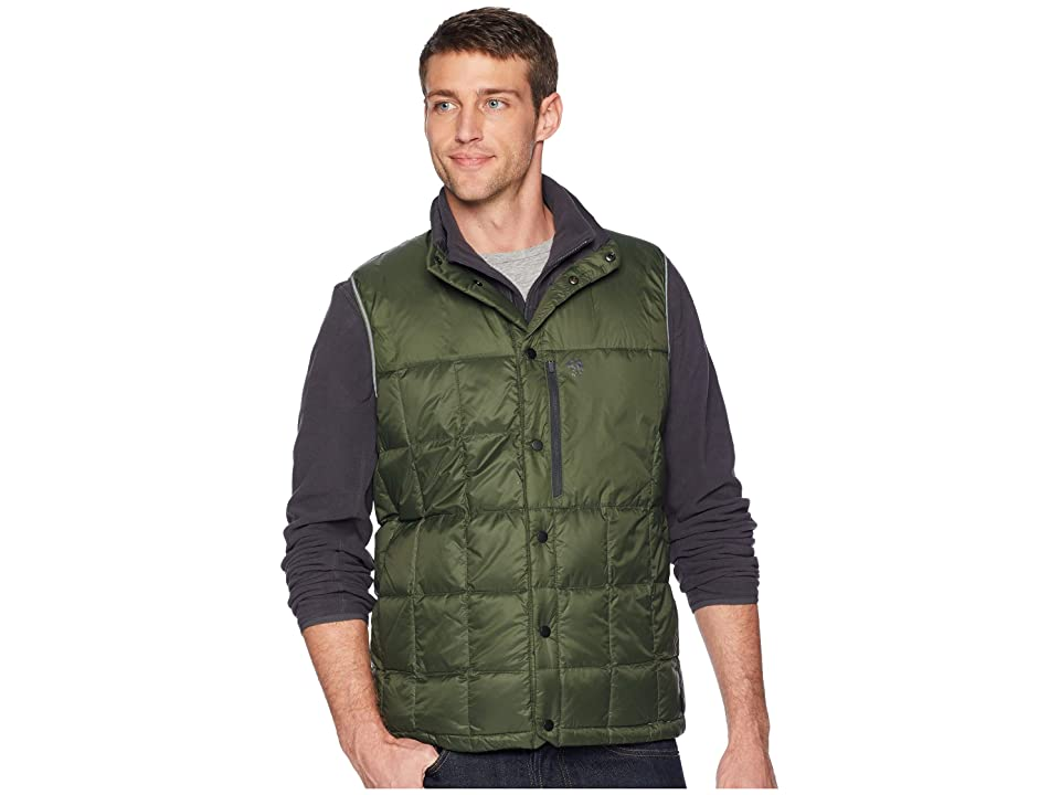 Mountain Hardwear PackDown Vest (Surplus Green) Men