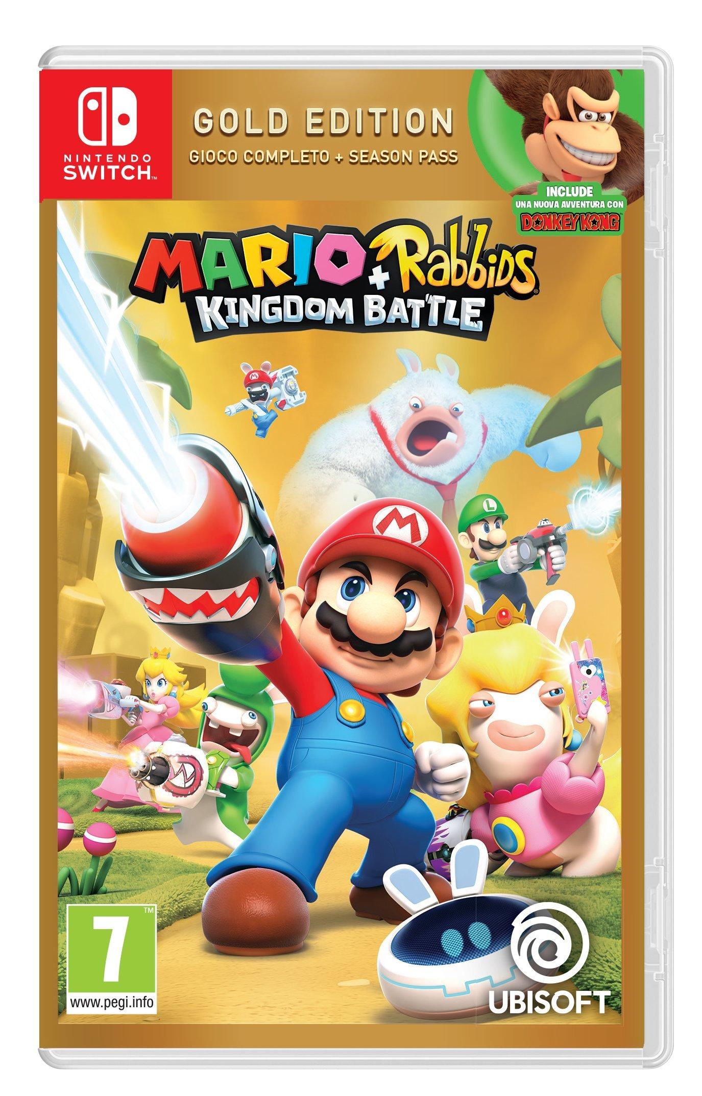 Mario + Rabbids Kingdom Battle - Gold - Nintendo Switch [Importación italiana]: Amazon.es: Videojuegos