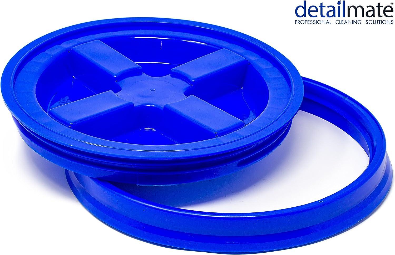 Detailmate Gritguard Gamma Seal Eimerdeckel Blau Passend Für Grit Guard Wash Buckets Eimer Passend Für Meguiar S Auto