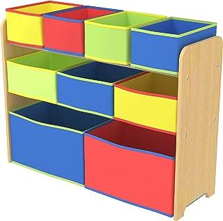 Class Kids' Toy Storage Organizer with 9 Fabric Storage Box - CLJWTR-3090