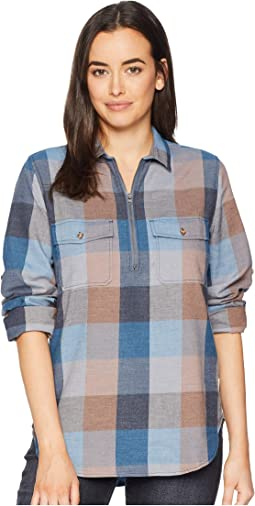 Any Point Convertible Flannel Shirt