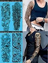 Best waterproof temporary sleeve arm tattoo Reviews