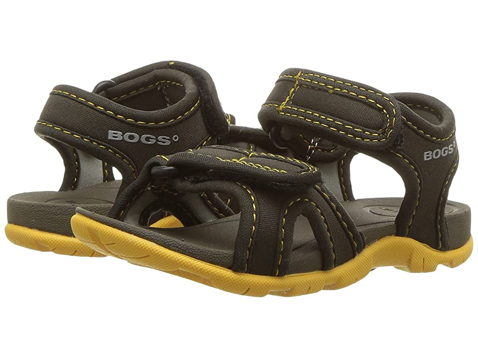 Bogs Kids Whitefish Solid (Toddler) (Olive Multi) Boys Shoes