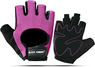 Blisfille Guantes Ciclismo XS Guantes Ciclismo XS Guantes Mujer Piel Invierno Guantes Nylon,Negro,Guantes S-X-L