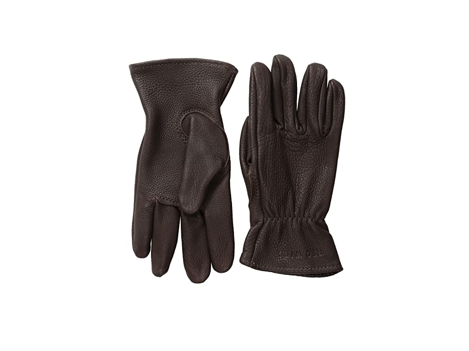 Red Wing Heritage Unlined Gloves (Brown Buckskin) Cycling Gloves