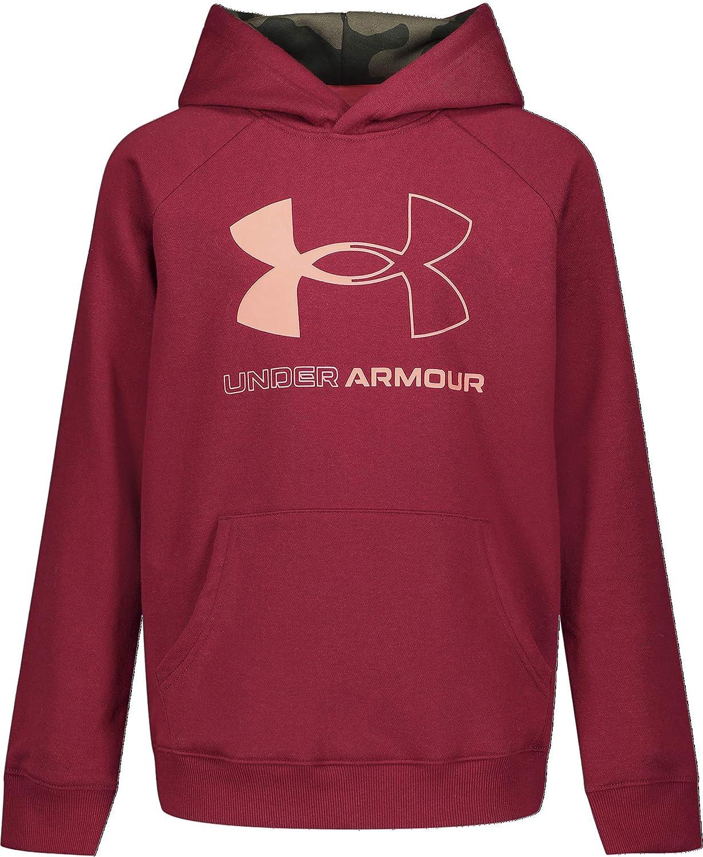 Under Armour Boys' Fleece Big Logo Hoodie