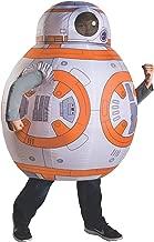 Rubie's Disfraz Star Wars VII: El Despertar de la Fuerza BB-8, Deluxe Inflable BB-8, Anaranjado, Una Talla
