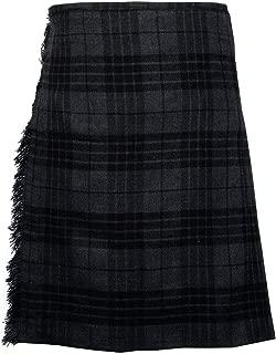 Men's 5 Yard Scottish Tartan Kilt, Highland Wedding Kilt