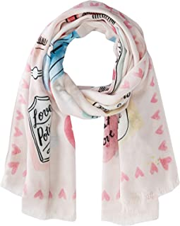 Kate Spade New York Love Potions Oblong Scarf