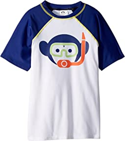 Appaman Monkey Snokle Print Rashgaurd (Toddler/Little Kids/Big Kids)