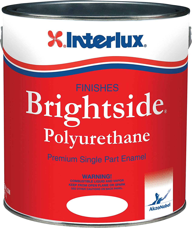 Interlux Y4359 Colorado Springs Mall Bargain sale 1 Brightside Polyurethane White Paint - Gallon