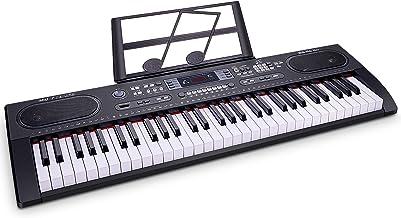 WOSTOO Piano Keyboard 61-Key Digital Electric Music- Portabl