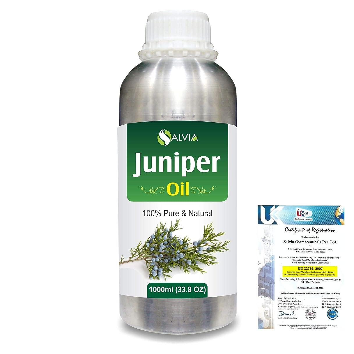 スロープ記念品フリルJuniper (Juniperus communis) 100% Natural Pure Essential Oil 1000ml/33.8fl.oz.