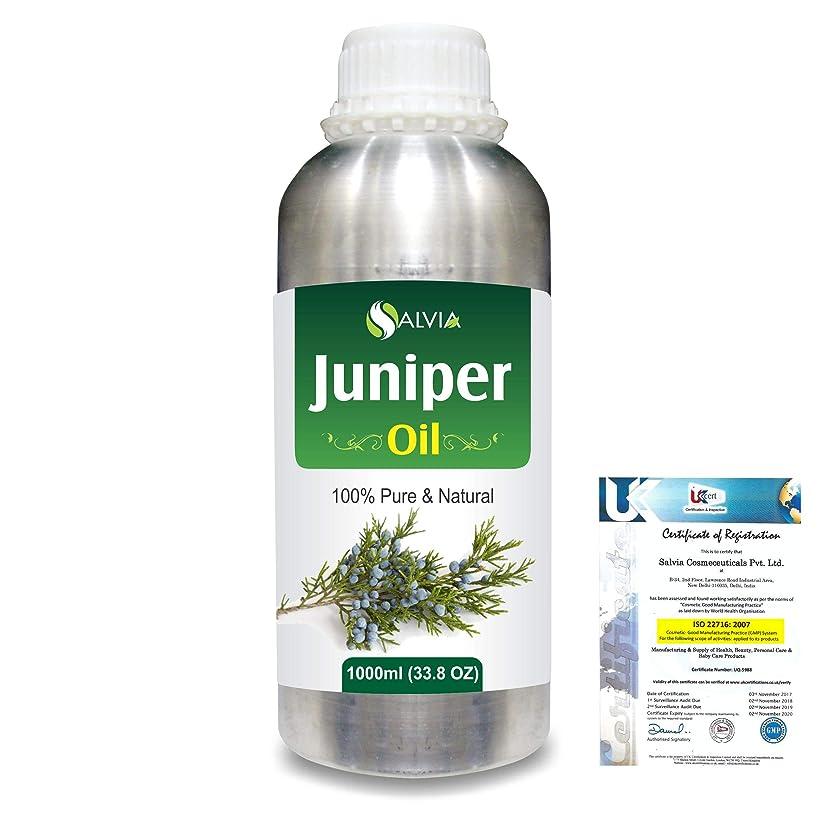 蒸発する広がり没頭するJuniper (Juniperus communis) 100% Natural Pure Essential Oil 1000ml/33.8fl.oz.