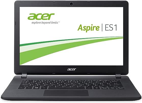 Acer Aspire ES1-311-P6SJ 33 8 cm 13 3 Zoll Laptop Intel Pentium N3540 2 1GHz 4GB RAM 500GB HDD Intel HD Graphics Win 8 1 schwarz Schätzpreis : 212,00 €