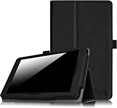 Fintie Nextbook Ares 8A Case, Slim Fit Premium Vegan Leather Folio Cover with Stylus Holder for Nextbook Ares 8A, Nextbook Ares 8, Nextbook Flexx 8, Nextbook 8 Old Version Tablet, Black