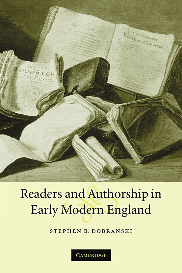 エアコン過敏な宣言するReaders and Authorship in Early Modern England