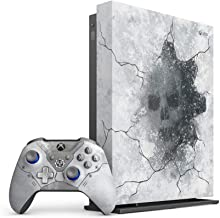 Microsoft - Xbox One X 1TB Gears 5 Limited Edition Arctic Blue Console with Xbox One X Vertical Stand, 1 Month Xbox Live Gold and Game Pass - Games Not Included (Renewed)