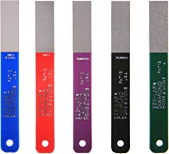 EZE-LAP L PAK5 Set SF/F/M/C/XC Color Coded Diamond Hones