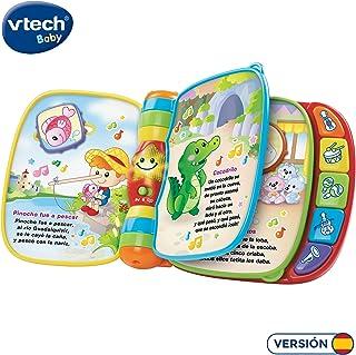 comprar comparacion VTech- Primeras Canciones Libro Musical Interactivo, Multicolor, Talla Única (80-166722)