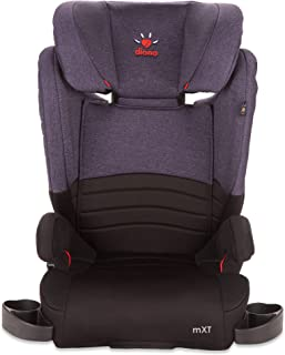 Diono Monterey XT LATCH, 2-in-1 Expandable Booster Seat, Purple (Discontinued by Manufacture)