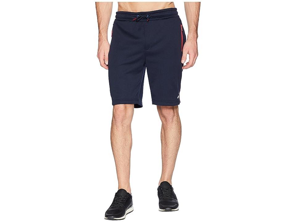 Nautica Pop Color Technical Shorts (Navy) Men
