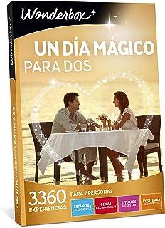 WONDERBOX Caja Regalo - UN Dia MÁGICO para Dos - 3.360 experiencias en España y Europa