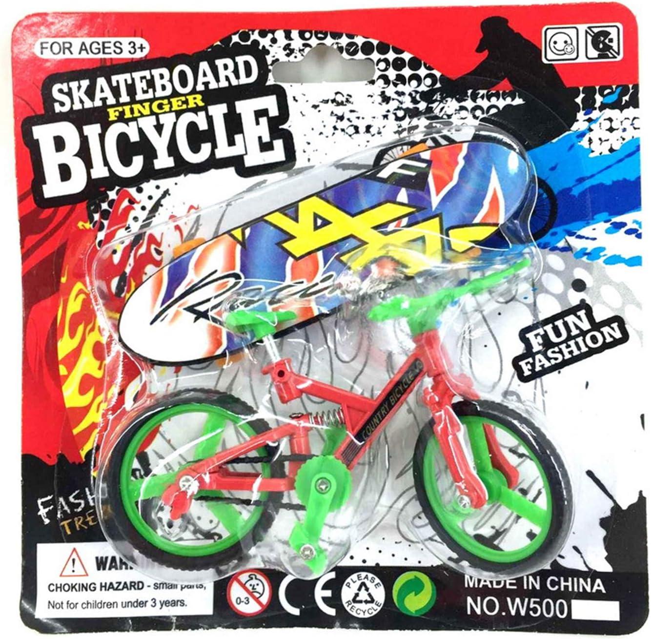 xiuersty Max 68% OFF Mini Bike Finger Skateboard Set C lowest price Toy Fingerboards