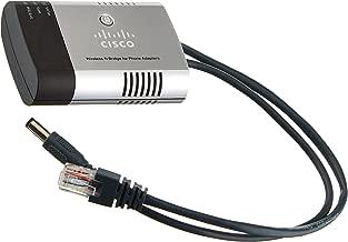 Cisco WBPN Wireless-N Bridge for Phone Adapters - Retail Packaging - Silver