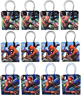 12PC SPIDERMAN GOODIE BAGS PARTY FAVOR BAGS GIFT BAGS