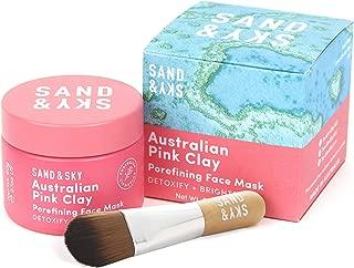 Sand & Sky - Porenverfeinernde Gesichtsmaske - mit rosa Tonerde aus Australien