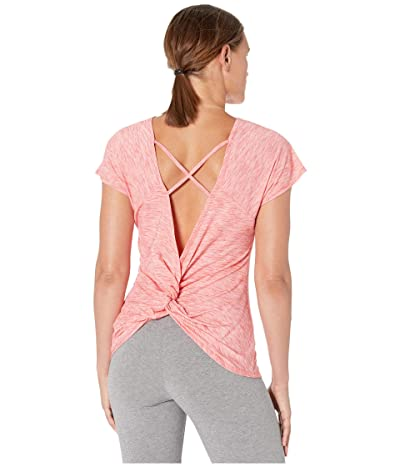 ASICS Short Sleeve Tee (Laser Pink Heather) Women