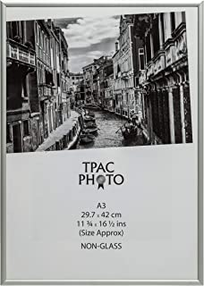 The Photo Album Company PAAFA3B - Marco de fotos (aluminio satinado)