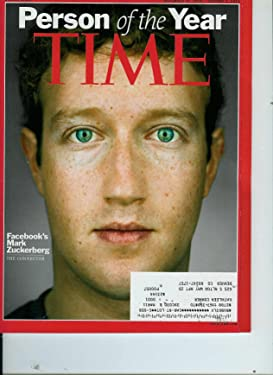 Time Magazine Person of the Year Facebook's Mark Zuckerberg: The Connector December 27 2010 / January 3, 2011 Volume 176, No. 26