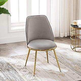 Artechworks Velvet Modern Upholstered Dinning Chair with...