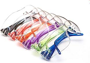 JustForKids EyePro ANSI Z87.1 EN166 Certified Kids Safety glasses, Kids goggles, Scratch, Impact and Ballistic Resistant S...