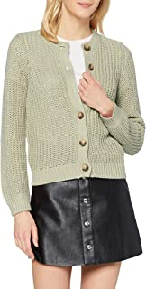 PIECES Pcpetula LS Knit Cardigan Noos BC Maglione Donna
