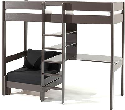 Alfred & Compagnie Armance & Faustin - Litera con asiento desplegable y escritorio,