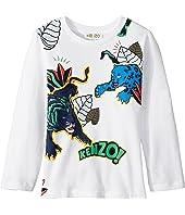 Kenzo Kids - Jumping Tiger T-Shirt (Toddler/Little Kids)